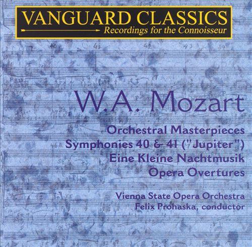 W.A. Mozart: Orchestral Masterpieces, Vol. 1