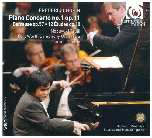 Chopin: Piano Concerto No. 1; Berceuse, Op. 57; 12 Études, Op. 10