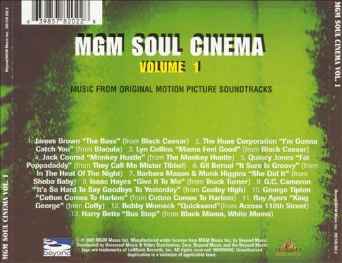 MGM Soul Cinema, Vol. 1