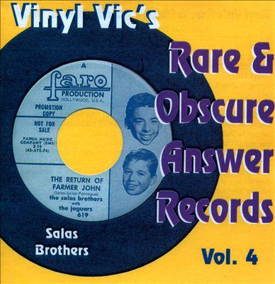 Vinyl Vic's Rare & Obscure Answer Records, Vol. 4