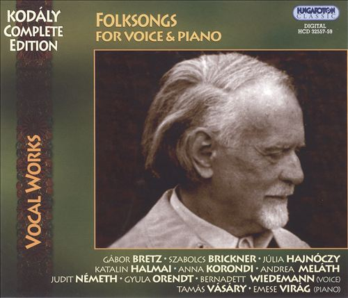 Folksongs for Voice & Piano