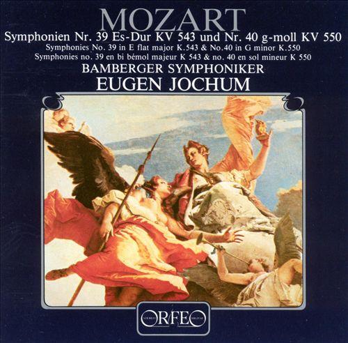Mozart: Symphonies 39 & 40