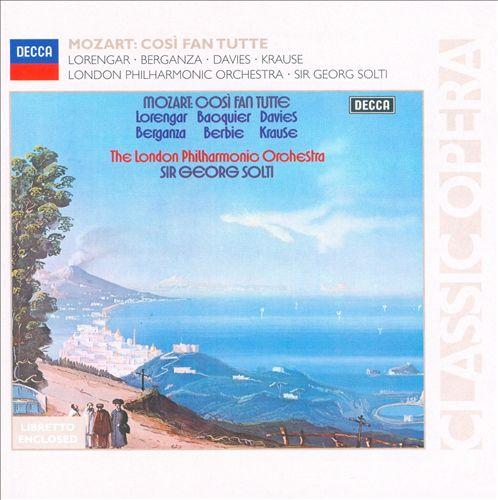 Mozart: Così fan tutte [1973-74 Recording]