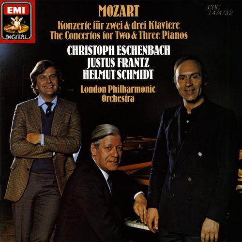 Mozart: Konzerte für zwei & drei Klaviere