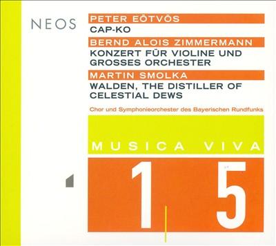 Musica Viva 15: Eötvös, Zimmerman, Smolka