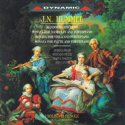 J.N. Hummel: Mandolin Concerto; Etc.