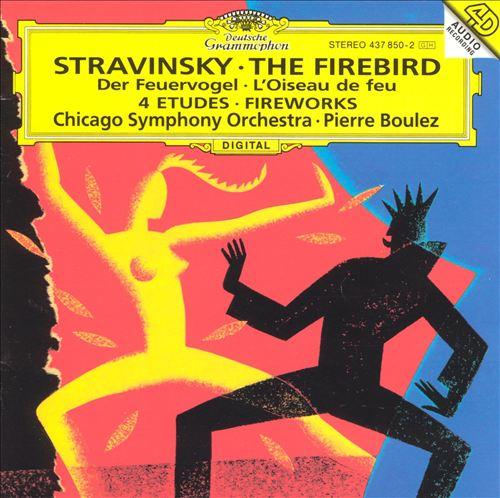 Stravinsky: The Firebird; Fantaisie for Orchestra, Op.4; Four Studies