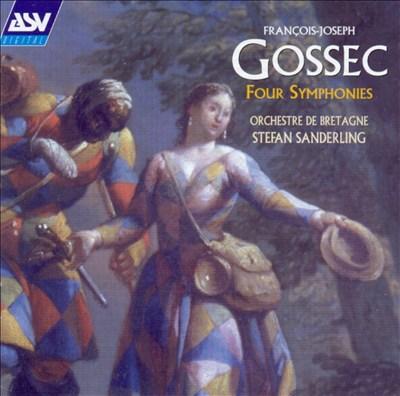 François-Joseph Gossec: Four Symphonies