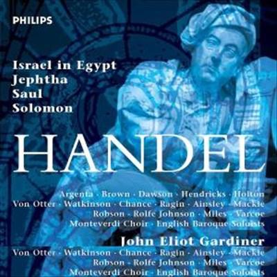 Handel: Israel in Egypt; Jephta; Saul; Solomon