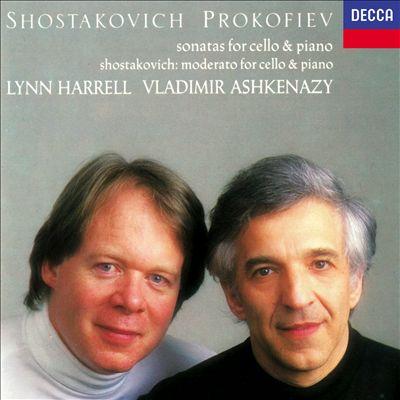 Shostakovich, Prokofiev: Sonatas for Cello & Piano; Shostakovich: Moderato for Cello & Piano