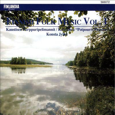 Finnish Folk Music, Vol. 1