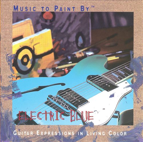 Music To Paint By: Electric Blue