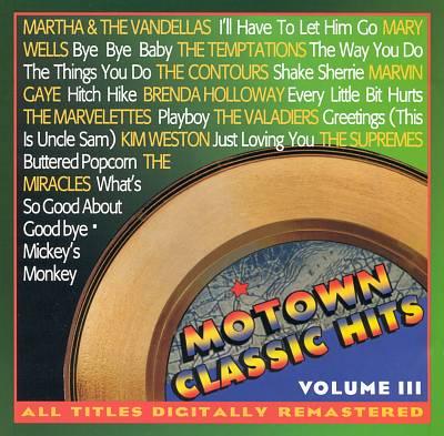 Motown Classic Hits, Vol. 3