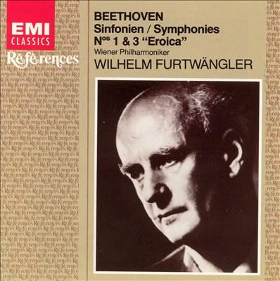 "Beethoven: Symphonies Nos. 1 & 3 ""Eroica"""