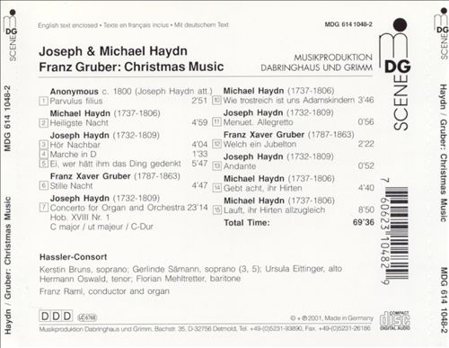 Haydn & Gruber: Christmas Night
