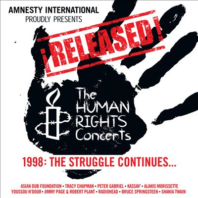 ¡Released! The Human Rights Concerts - The Struggle Continues…