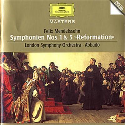 "Mendelssohn: Symphonies Nos. 1 & 5 ""Reformation"""