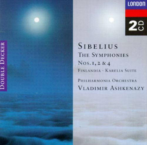 Sibelius: Finlandia; Karelia Suite; The Symphonies Nos. 1, 2 & 4