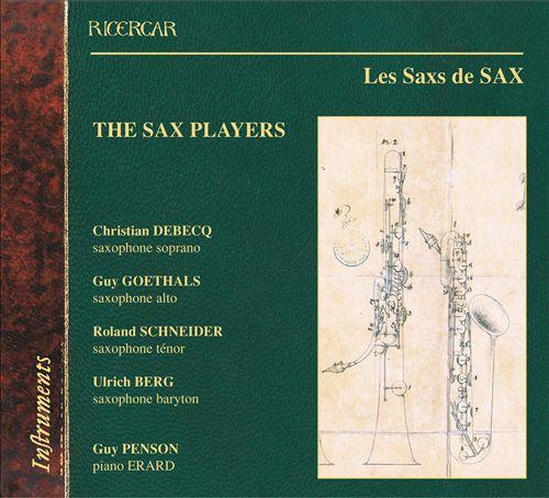 Les Sax de SAX / The Sax Players