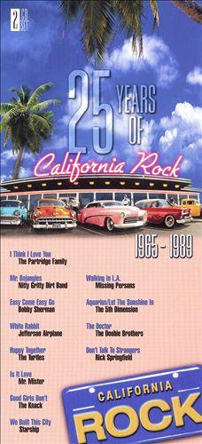 25 Years Of California Rock