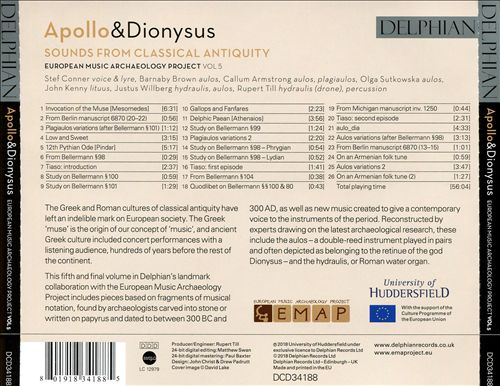 Apollo & Dionysus: Sounds from Classical Antiquity