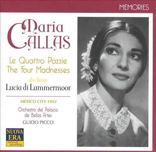 The Four Madnesses from Lucia di Lammermoor