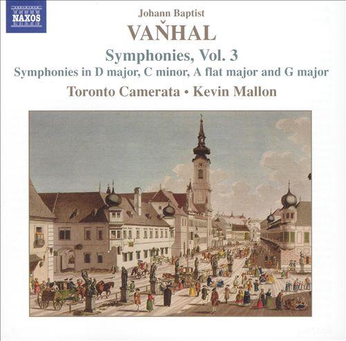 Vanhal: Symphonies, Vol. 3