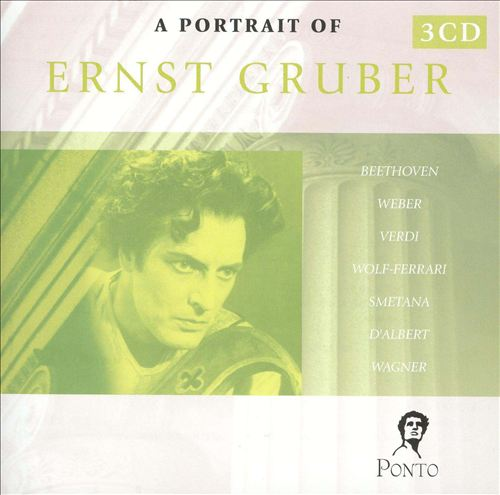 A Portrait of Ernst Gruber