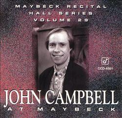 Live at Maybeck Recital Hall, Vol. 29 (John Campbell at Maybeck)