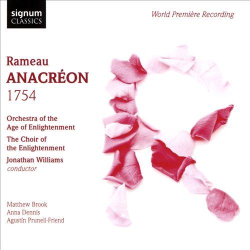 Rameau: Anacreon 1754