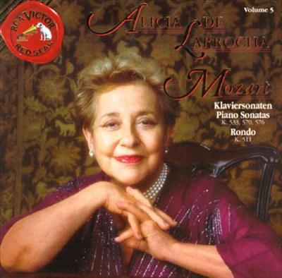 Alicia De Larrocha Plays Mozart, Volume 5