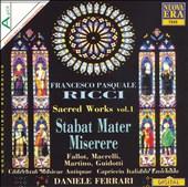 Ricci: Sacred Works, Vol. 1