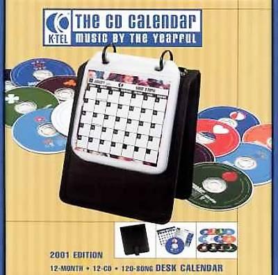 2001 K-Tel CD Calender