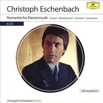 Romantische Klaviermusik: Chopin, Mendelssohn, Schubert, Schumann
