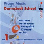 Piano Music of the Darmstadt School, Vol. 1