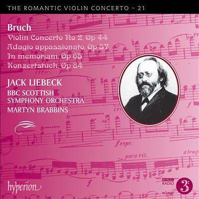 The Romantic Violin Concerto, Vol. 21: Bruch