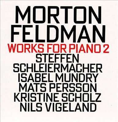 Works for Piano, Vol. 2