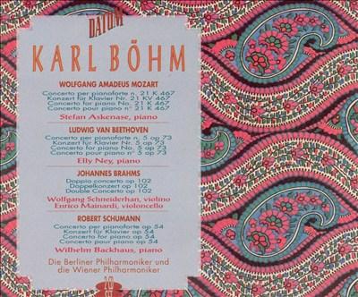 Karl Böhm Conducts Mozart, Beethoven, Brahms & Schumann