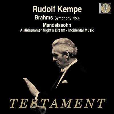 Rudolf Kempe Conducts Brahms and Mendelssohn