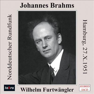 Wilhelm Furtwängler dirige Brahms