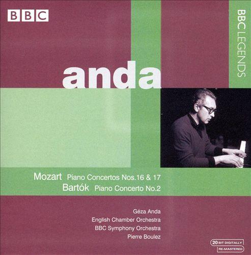 Mozart, Bartók: Piano Concertos