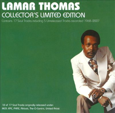 Lamar Thomas: Collector's Limited Edition