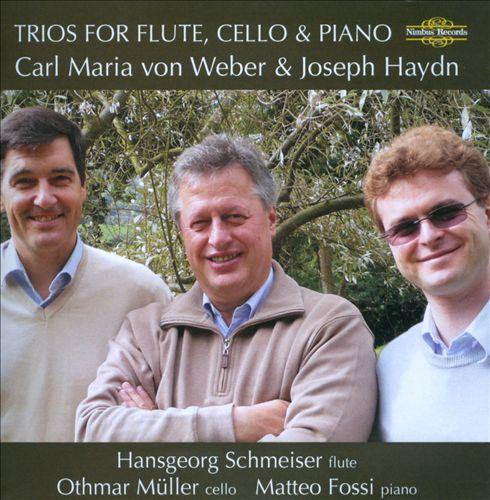Weber, Haydn: Trios for Flute, Cello & Piano