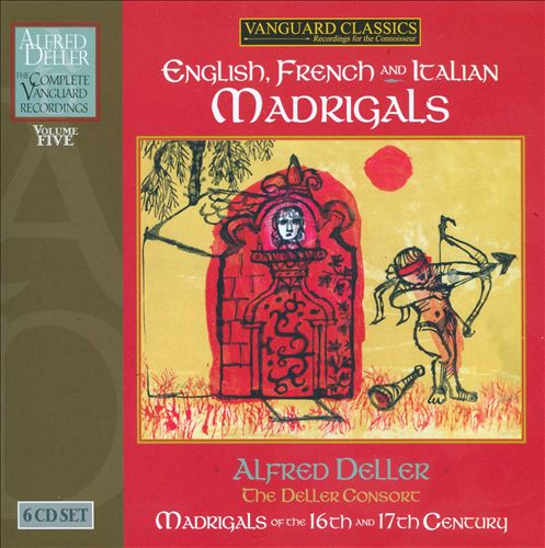 English French and Italian Madrigals