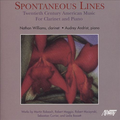 Spontaneous Lines: 20th Century American music for Clarinet and Piano