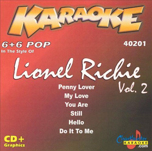 Chartbuster Karaoke: Lionel Richie, Vol. 2