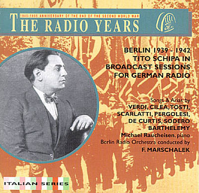 The Broadcast Sessions for German Radio, 1939-42