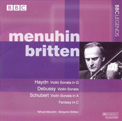 Menuhin & Britten Perform Haydn, Debussy & Schubert