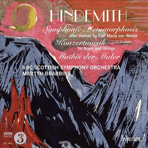 Hindemith: Symphonic Metamorphosis; Konzertmusik; Mathis der Maler