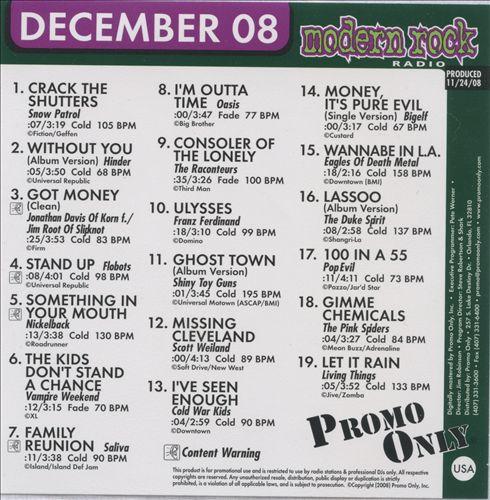 Promo Only: Modern Rock Radio (December 2008)